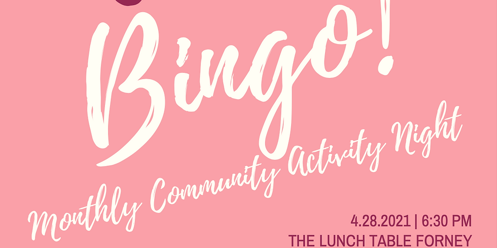 Bingo - Community Activity Night