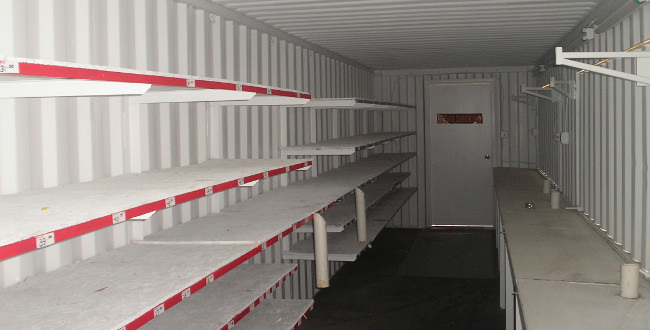 40' Container Shelves (Large)