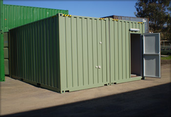 Joining Container w/ Door