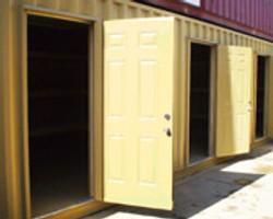 Multiple Steel Doors