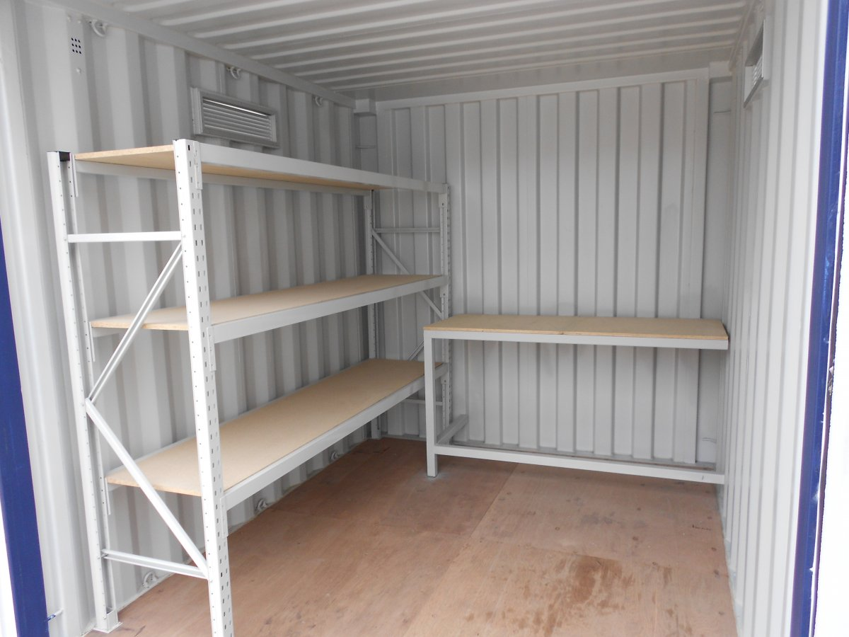 Box Container Shelving (Small)