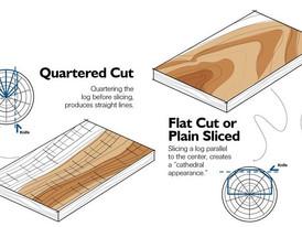 Veneers: Rotary Cut v Flat Cut