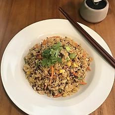 Asian Style Cauliflower Fried Rice