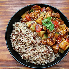 Sweet and Sour Rice Bowl