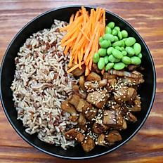 Ginger Sesame Rice Bowl