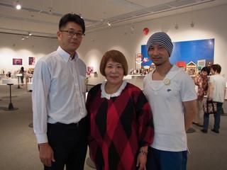 泰良木ゆめ作品展「泣いた 笑った 生きた! 人形で綴(つづ)る私の昭和」