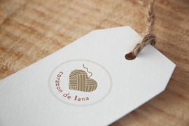 Corazón de lana - Identidad Corporativa