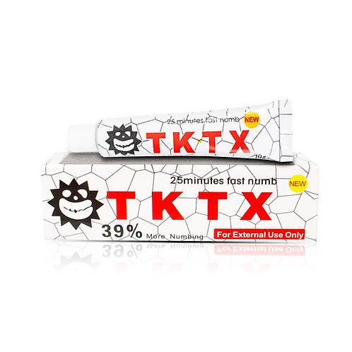 White 39% TKTX Numbing Tattoo Body Anesthetic Fast Numb Cream Semi Permanent Ski