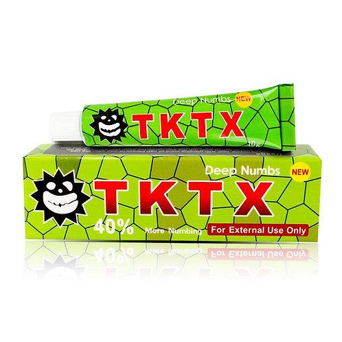 Green TKTX 40% More Numbing Cream Piercing Makeup Permanent Eye - numbing cream