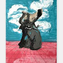 """Woman 2018"" 2018 Acrilyc on illustration board 19 x 27 inches 50 x 70 cm (unframed)"