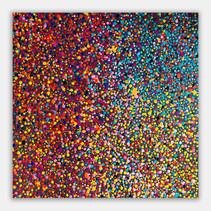"""Volumen 4"" 2019 Acrilyc on canvas 40 x 40 inches 100 x 100 cm (unframed)"