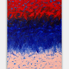 """Volumen 2"" 2018 Acrylic on Canvas 47 x 23 inches 120 x 60 cm  (unframed) [ SOLD ]"