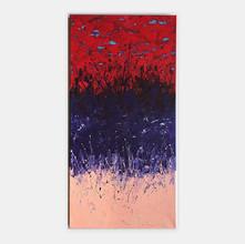 """Volumen 1"" 2018 Acrylic on Canvas 47 x 23 inches 120 x 60 cm  (unframed) [ SOLD ]"