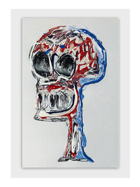 Skull in Hong Kong, 2018 [SOLD]