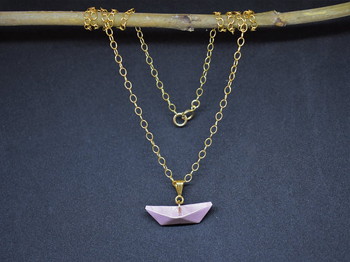 Collier Bateau - Gold Filled 14 Carats