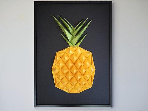Tableau 50x70cm - Ananas