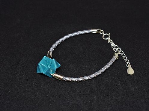 Bracelet Cocotte - Cuir et Argent Sterling 925
