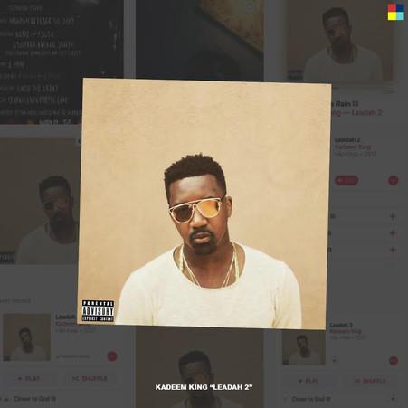 """Kadeem King """"Leadah 2"""" Album Release"""
