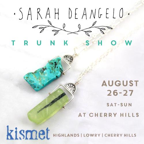 SARAH DEANGELO TRUNK SHOW