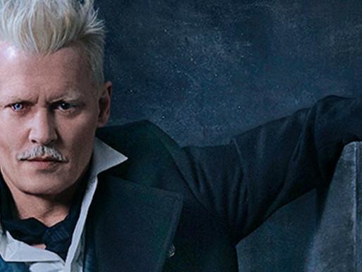 """Johnny Depp está fora do elenco de """"Animais Fantásticos"""""""