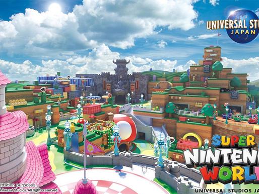 Parque temático Super Nintendo World será inaugurado no início de 2021 no Japão
