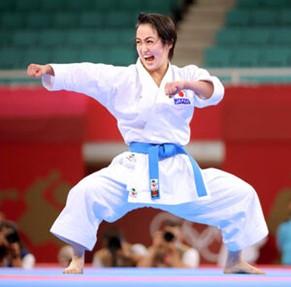 Karate Women's Silver Kiyou Shimizu.