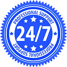 24 - 7 Prof Support Blue.png
