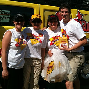 Bojangles Brand Ambassadors at Darlington NASCAR