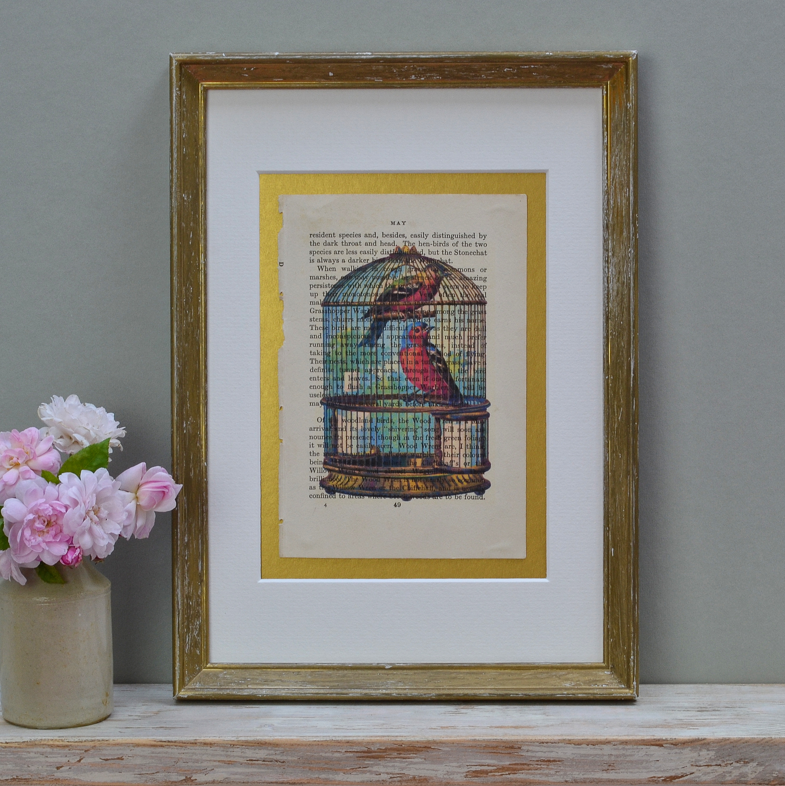 Caged Birds Print