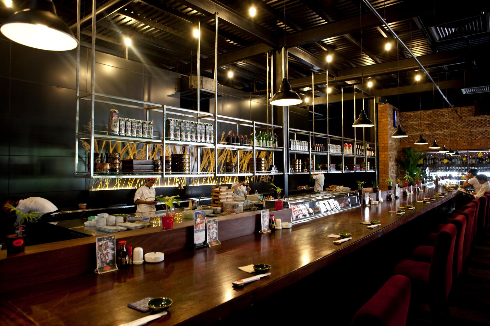The Sushi & Wine Bar