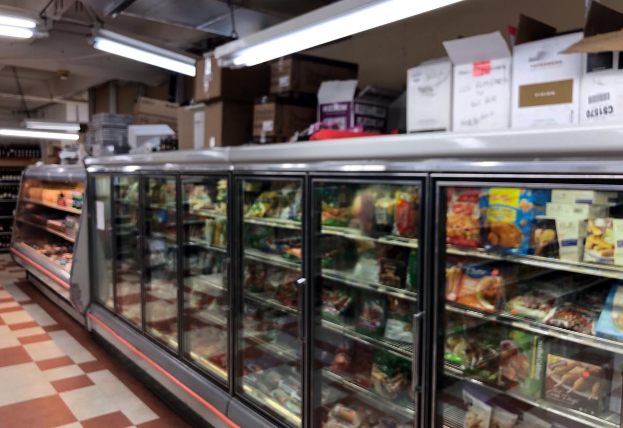 Existing Interior of Kosher Market