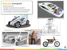 Portfolio concepts de véhicules