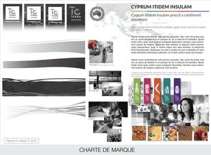 Concept de charte de marque