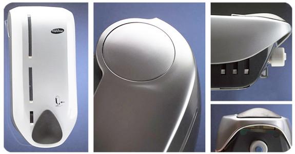 Design d'un distributeur de savon