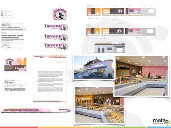 Design d'identité et d'espace commerciaux
