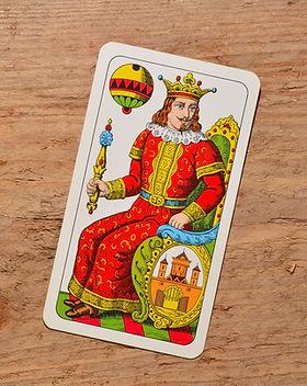 Rei no cartão