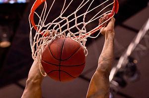 バスケットボールダンク
