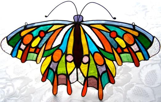 Papillon en Tiffany