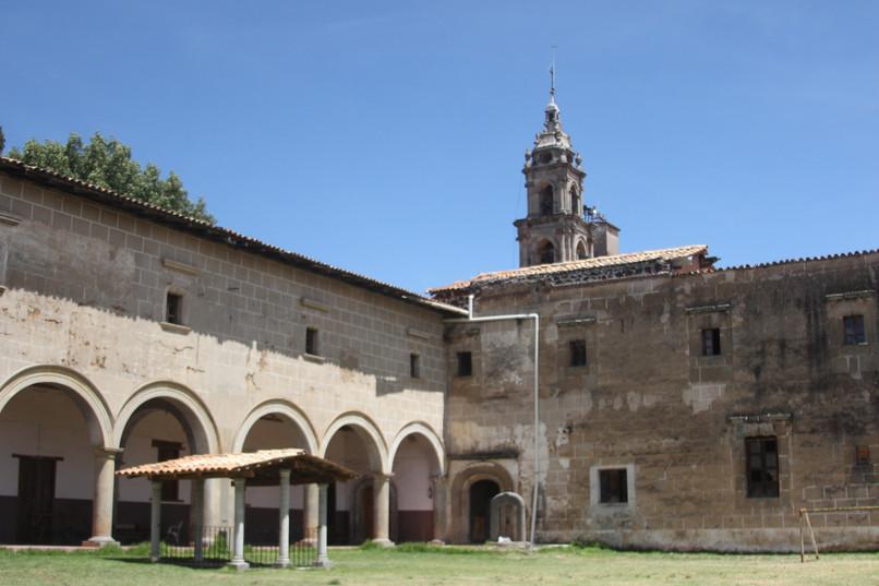 Ex convento agustino de Ucareo
