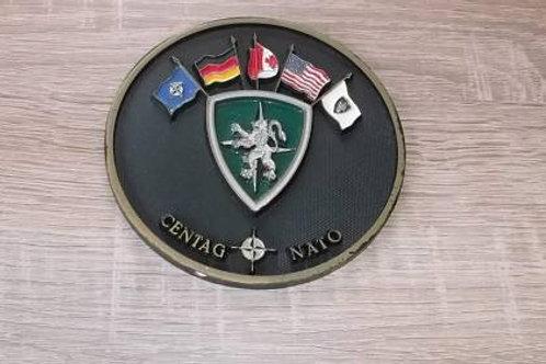 Großer Coin CENTAG NATO Einzelstück