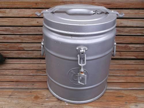 Speisenbehälter rund, 20 Liter, gebraucht