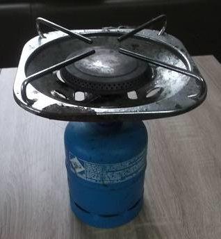 Gaskocher Aufsatz von Carena für Gasflaschen von Campinggaz