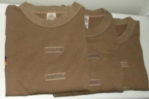 3 Bundeswehr Tropen T-Shirt`s , braun, gebraucht