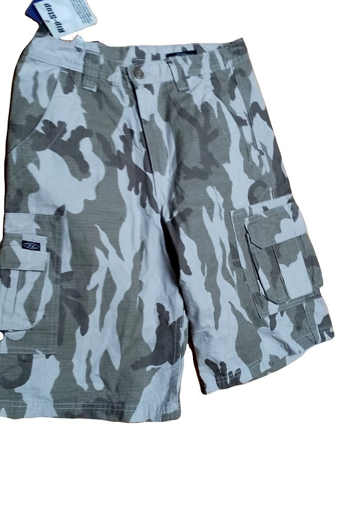 Highlander Camouflage Rip-Stop Shorts