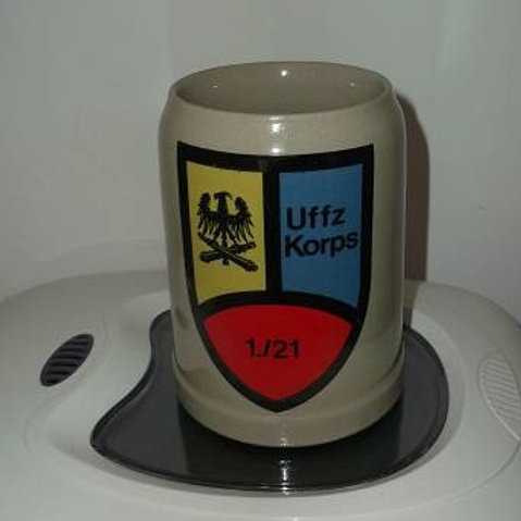 Bundeswehr Reservistenkrug Uffz Korps 1./21