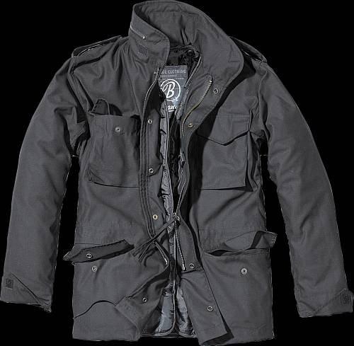 M 65  US-FIELDPARKA , Classic, neu, schwarz, Übergröße 3XL - 5XL