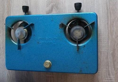 Spirituskocher 2-flammig gebraucht