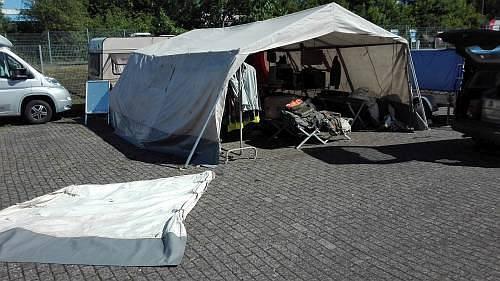 MANNSCHAFTSZELT SG 30, ca 6 * 5 meter VERMIETUNG