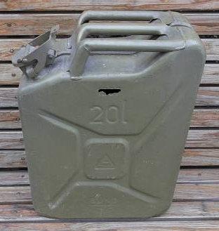Bundeswehr 20 liter Kanister gebraucht
