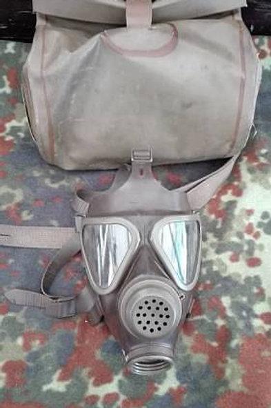 Bundeswehr ABC Maske gebraucht mit Tasche